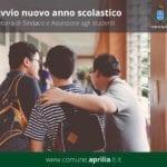 La scuola riparte ad Aprilia, la lettera del Sindaco e dell'Assessore Martino agli studenti
