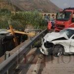 Incidente ai 25 Ponti, coinvolti un furgone e due auto