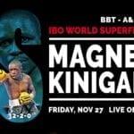 Boxe, mondiale superpiuma Magnesi-Kinigamazi: confermato il match a Fondi