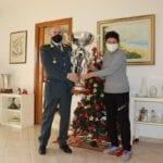 Natale di solidarietà per le Fiamme Gialle: torna a casa il 'Trofeo Bellantuono'