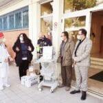 Dopo la raccolta fondi, la donazione all'ospedale Dono Svizzero