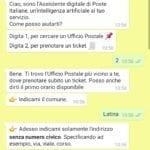 prenotazione whatsapp poste spid1