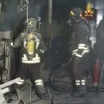 Principio di incendio in un'azienda chimica, l'intervento dei Vigili del Fuoco