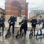 Presentato ad Aprilia il nuovo servizio di sharing di monopattini elettrici