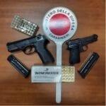 Mancata comunicazione di cambio residenza: armi sequestrate ad un 64enne