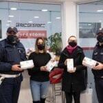 La Pneus Service dona 5mila mascherine ai centri 'Magicabula' e 'L'allegra brigata'