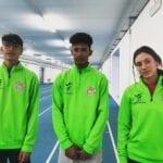 Tre atleti della Poligolfo di Formia ad Ancona per i Campionati Allievi Indoor