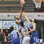 Basket: la Benacquista Latina tiene testa al Napoli, poi cede nel finale 59-69