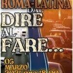 Autostrada Roma-Latina, domani il flashmob organizzato dalla Lega