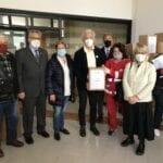 Il Rotary Club dona 100 pacchi alimentari per le famiglie bisognose