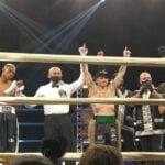 Un pezzo di Fondi nel mondiale di boxe, Magnesi bis campione