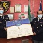 L'Associazione Vittime della strada premia la Polizia Stradale di Aprilia