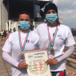 Canoa, titolo italiano nel K2 senior per le atlete della Marina Militare di Sabaudia