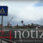 Gaeta, inaugurata la nuova rotonda presso il porto commerciale (#VIDEO)