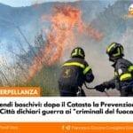 Prevenzione degli incendi boschivi: le proposte di Fondi Vera in Consiglio Comunale