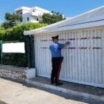 Formia, sequestrato un manufatto abusivo: due denunciati