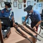 Detenzione abusiva di armi, denunciata una 63enne