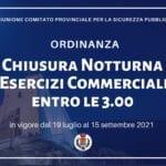 Attività commerciali chiuse entro le 3, l'ordinanza a Sperlonga